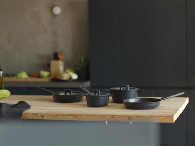 Посуда для кухни Fiskars Hard Face