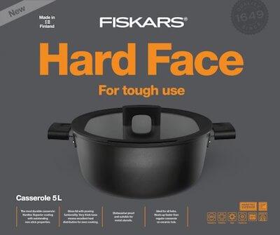 Посуда Fiskars серии Hard Face
