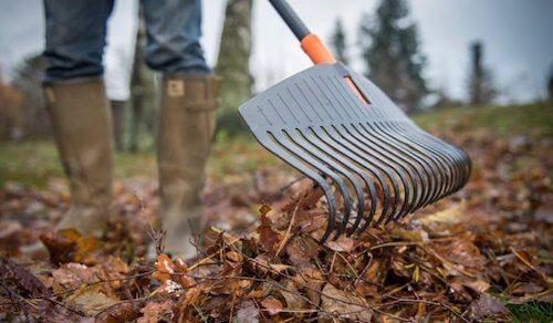 Грабли Fiskars для листьев