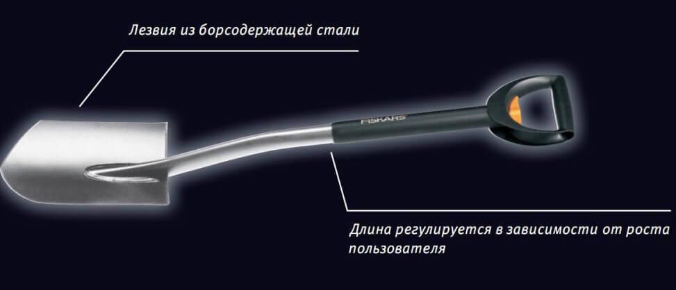 Телескопическая лопата