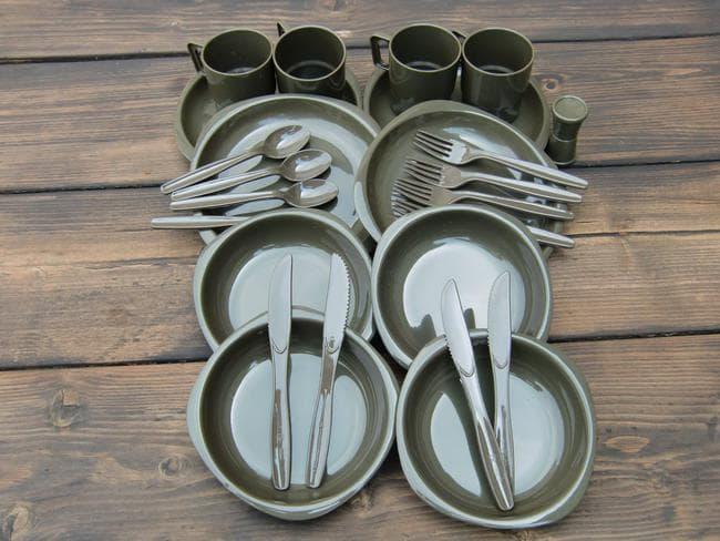 Набор туристической посуды Mil-Tec