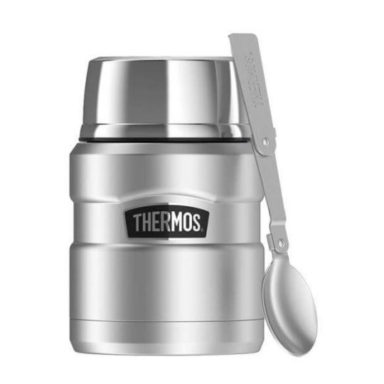 Термос Thermos Stainless King Food Flask, Stainless Steel, 470 ml 173025