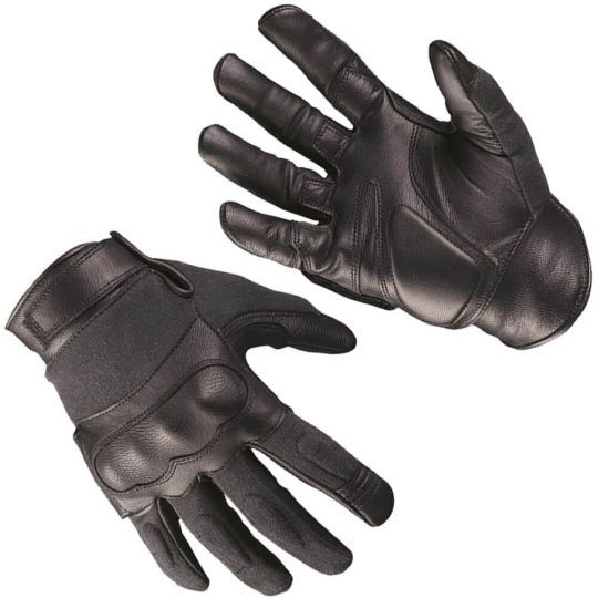 Перчатки Mil-Tec Tactical Gloves leather\ Kevlar Black XL 12504202