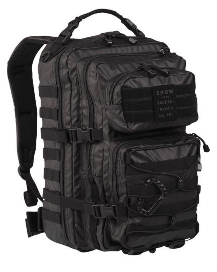 Рюкзак Mil-Tec US ASSAULT PACK LG TACTICAL BLACK 36 L 14002288