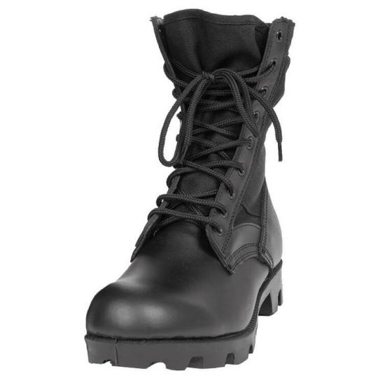 Берцы US MIL-TEC Jungle Panama Tropical Boots Black №10 (43) 12826002