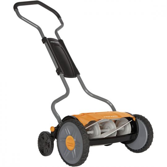 Газонокосилка Fiskars StaySharp™ Plus Reel Mower 113872 (1015649)