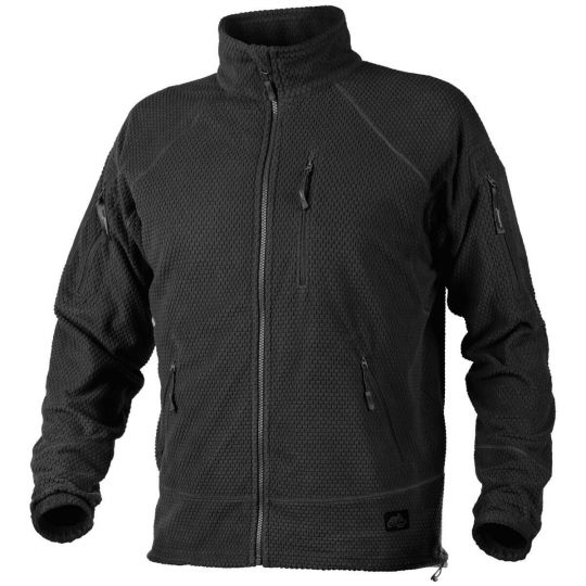 Кофта Helikon Alpha Tactical Grid Fleece Jacket Black XXL/regular BL-ALT-FG-01