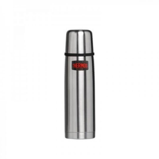 Термос Thermos Light and Compact Stainless Steel Vacuum Flask – Silver,0,75L 150052