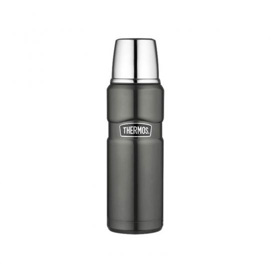 Термос Thermos Stainless King Flask, Gun Metal, 470 ml 170014