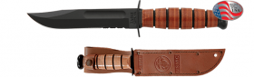 Нож Ka-Bar 1252 - Short USMC Serrated 1252