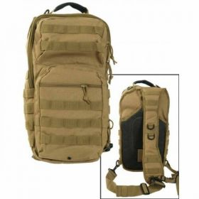 Рюкзак Mil-Tec однолямочный One Strap Assault Pack LG Coyote 14059205