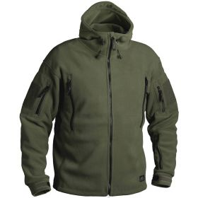 Кофта Helikon Patriot Heavy Fleece Jacket-Olive Green XS/regular BL-PAT-HF-02