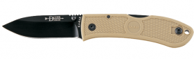 Нож Ka-Bar - Dozier Folding Hunter - Coyote Brown 4062CB