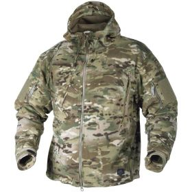 Флисовая кофта с капюшоном Helikon-Tex Patriot Heavy Fleece Camogrom M BL-PAT-HF-14