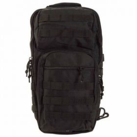 Рюкзак Mil-Tec однолямочный One Strap Assault Pack LG Black 14059202