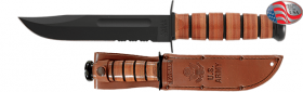 Нож Ka-bar Full-size US ARMY KA-BAR, Serrated Edge 1219
