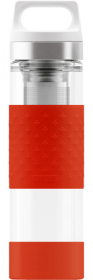 Термос SIGG Thermo Flask Hot & Cold Glass Red 0.4l 8555.90
