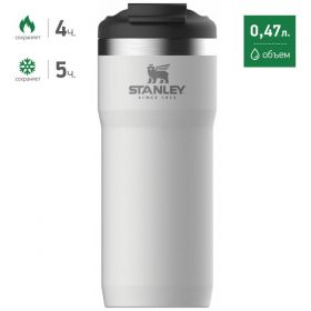ТТермокружка Stanley THE TWIN-LOCK™ TRAVEL MUG белая 10-06443-017
