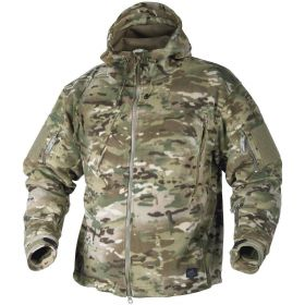 Флисовая кофта с капюшоном Helikon-Tex Patriot Heavy Fleece Camogrom L BL-PAT-HF-14