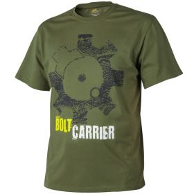 Футболка T-Shirt Helikon Bolt Carrier - US Green L/regular TS-BCR-CO-29