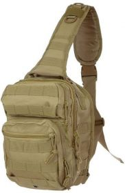 Рюкзак Mil-Tec однолямочный One Strap Assault Pack SM Coyote 14059105