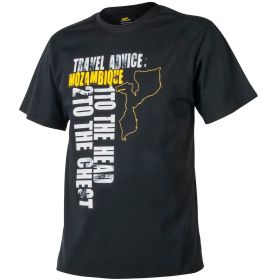 Футболка Helikon Travel Advice: Mozambique T-shirt Black ХХL/ regular TS-TAM-CO-01