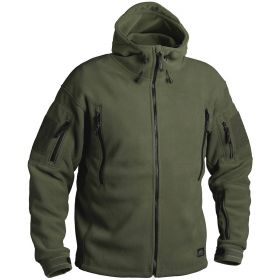 Кофта Helikon Patriot Heavy Fleece Jacket-Olive Green XXL/regular BL-PAT-HF-02